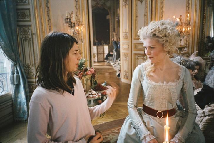 Marie Antoinette rodaje 2