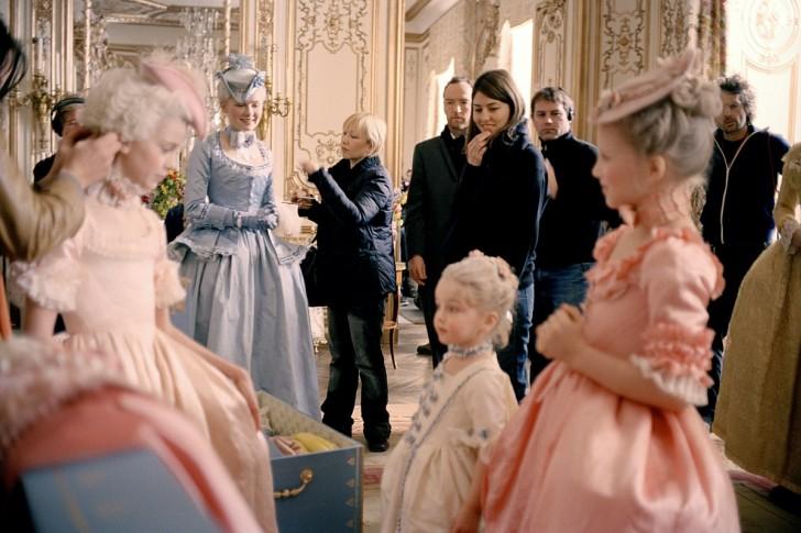 Marie Antoinette rodaje 3