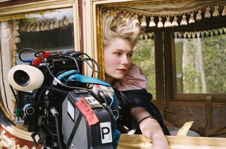 Marie Antoinette rodaje 6