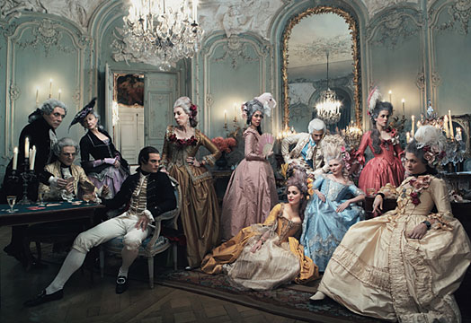 Marie Antoinette vogue 2