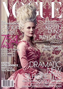 Marie Antoinette vogue cover