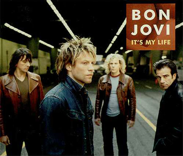 bon jovi its my life cover portada