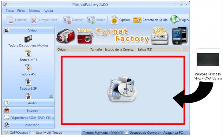 format factory videos
