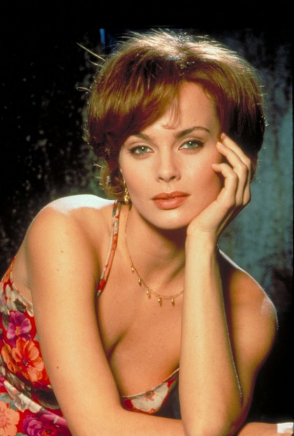 "Actress Izabella Scorupco is shown in a scene from the 1995 James Bond series film ""Goldeneye in this undated publicity photograph"