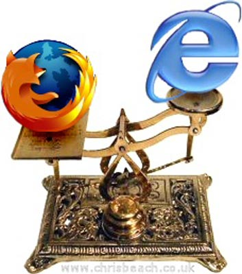 mozilla vs internet explorer