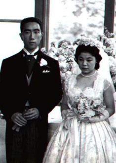 Yukio Mishima 1958 boda
