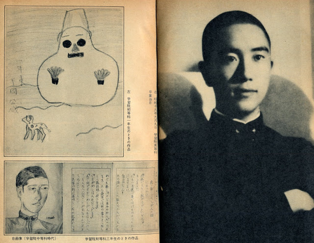 Yukio Mishima joven