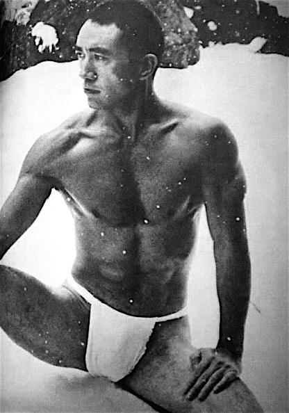 Yukio Mishima nieve