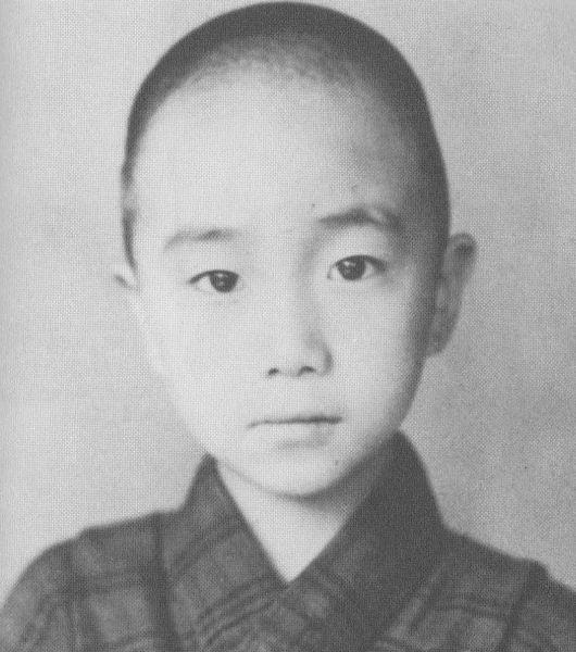 Yukio Mishima niño