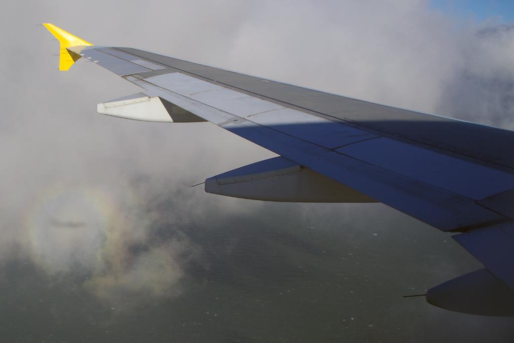 espectro brocken avion