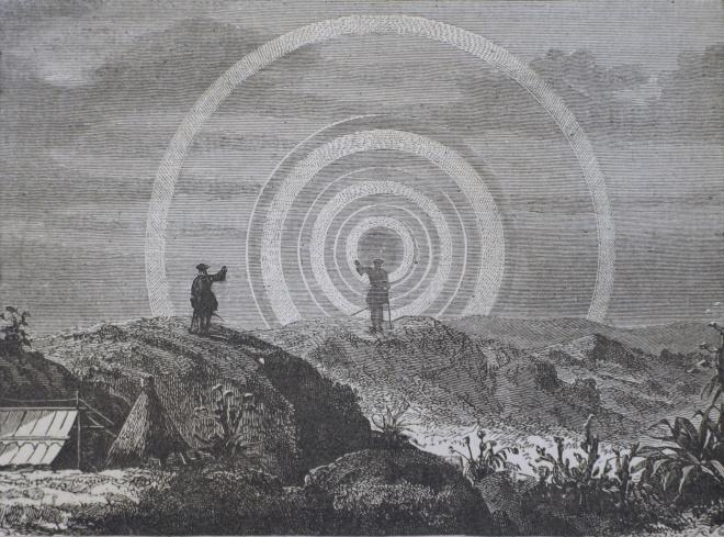 espectro brocken ilustracion
