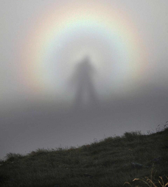 espectro brocken niebla
