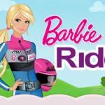 Juego con Barbie motorista