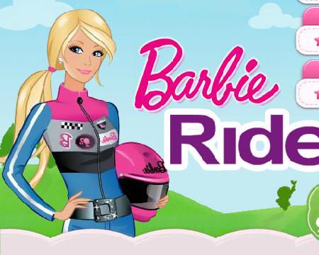 juego barbie motorista