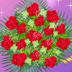 Juego con centros de flores