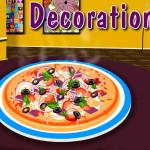 Juego de cocinar y decoración de pizzas