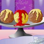 Juego de cocinar helados tres sabores