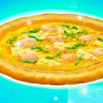 Juego de cocinar pizza de mariscos