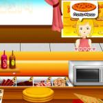 Juego de cocinar pizzas en pizzería