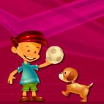 Pasar laberintos dando instrucciones a un perro