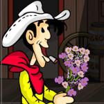 Juego con Lucky Luke enamorado