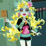 Juego de moda con Lagoona de Monster High