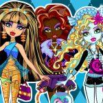 Juego con moda de la muerte Monster High