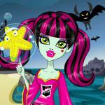 Juego de trajes para playa con Lagoona de Monster high