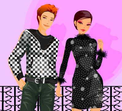 juego-vestir-enamorados