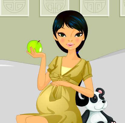 juego-vestir-joven-mama