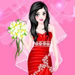 Juego de vestir y maquillar novias