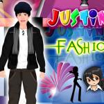 Juego de vestir y moda con Justin Beiber