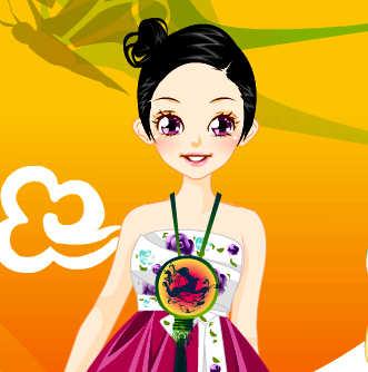 juego-vestir-moda-oriental