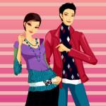 Juego de vestir parejas