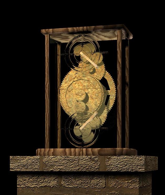 El mecanismo de anticitera blogodisea - Mecanismo para reloj de pared ...