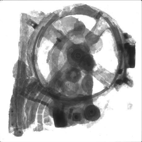 mecanismo anticitera radiografia