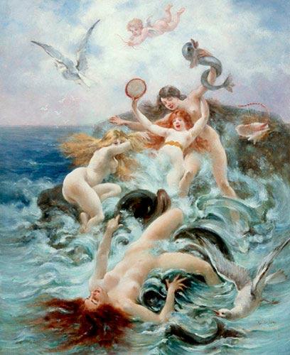 nereidas Adolphe La Lyre