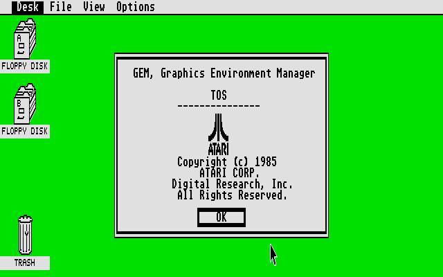 Atari gem sistema operativo