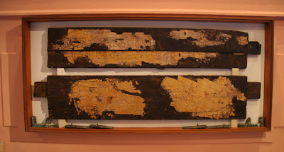 KV55 tablas doradas santuario