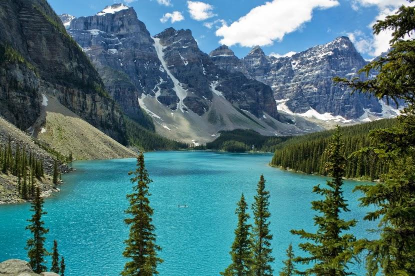 Lago montana Moriane Canada