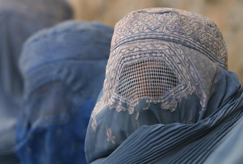 burka mujer