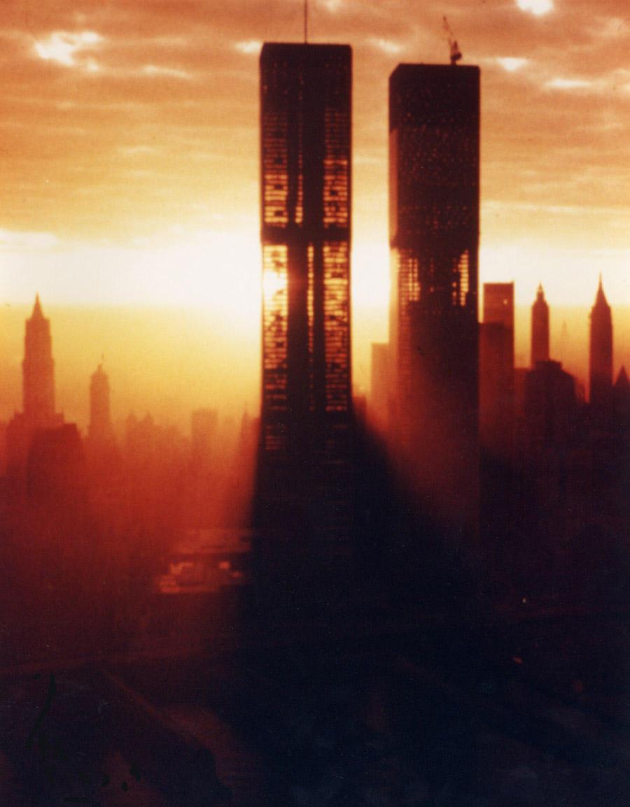construccion Torres Gemelas World Trade Center nueva york