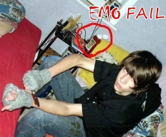 emo suicidio