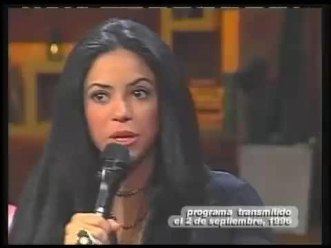 entrevista shakira otro rollo 1996