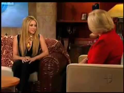 entrevista shakira show cristina