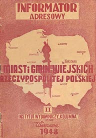 guia telefonica polonia 1948 phone book