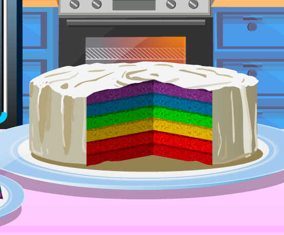 Juego Para Cocinar Pastel Arcoiris Juegos