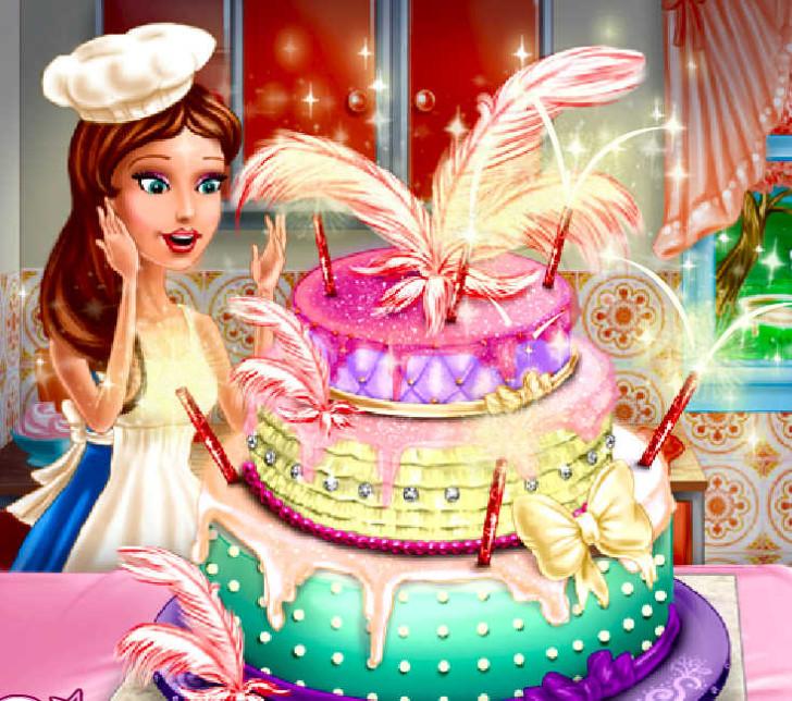 Juegos De Cocinar Tortas Y Decorarlas
