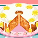 Juego para cocinar pastel de limón