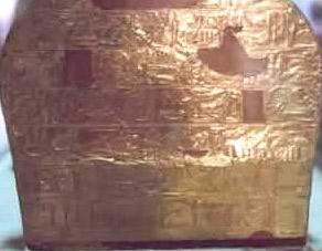 kv55 tumba lamina oro